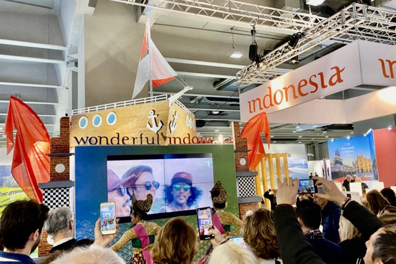 Five Indonesian destinations that are marketed in the BIT Milan exhibition