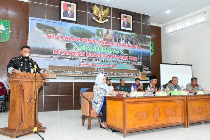 Kecamatan Rupat Utara terima alokasi dana Rp73 miliar