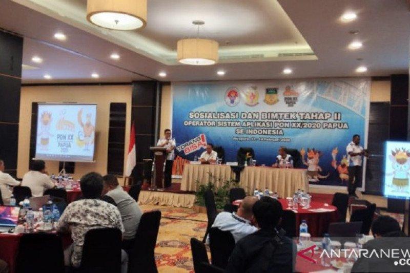 Diskominfo: sistem pendaftaran atlet PON Papua 2020 daring mulai 20 Februari