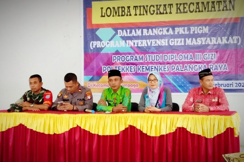 Mahasiswa Gizi bantu edukasi masyarakat Kotim cegah stunting