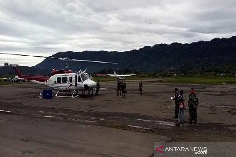 Helikopter PT NUH  hilang kontak dalam penerbangan Nabire-Banyubiru