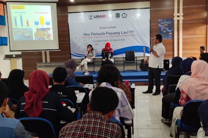 Kuliah umum pengembangan konservasi perairan digelar USAID-KKP Malut