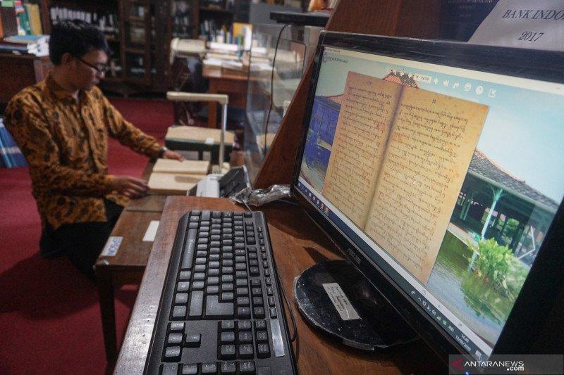 DIgitalisasi arsip perpustakaan Mangkunegaran