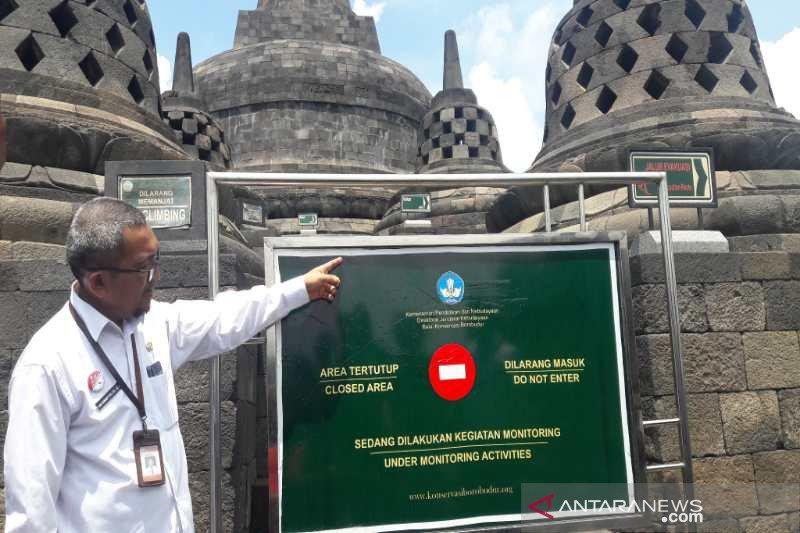 Kunjungan wisatawan di Candi Borobudur dibatasi sampai lantai 8