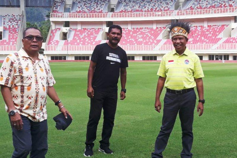 Tinjau kesiapan PON 2020, Menpora Zainudin Amali sambangi Stadion Papua Bangkit