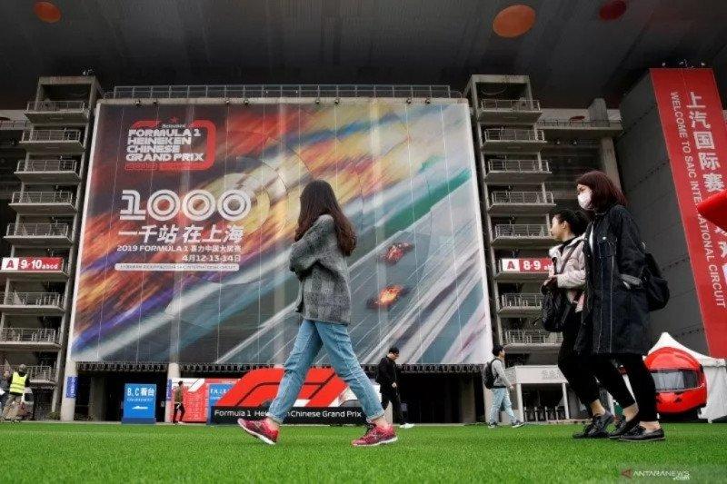 Formula 1 bahas solusi selamatkan Grand Prix China terkait virus corona