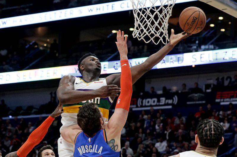 Pelicans takluk kepada Thunder meski Williamson panen 32 poin