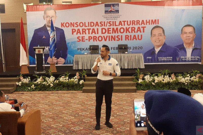 "Pilkada serentak di Riau, AHY beri ""lampu hijau"" usung kader Demokrat"