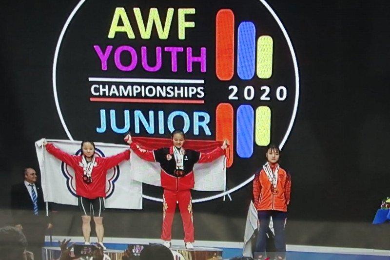 Lifter Windy Cantika raih mendali emas pada Kejuaraan Asia Junior 2020