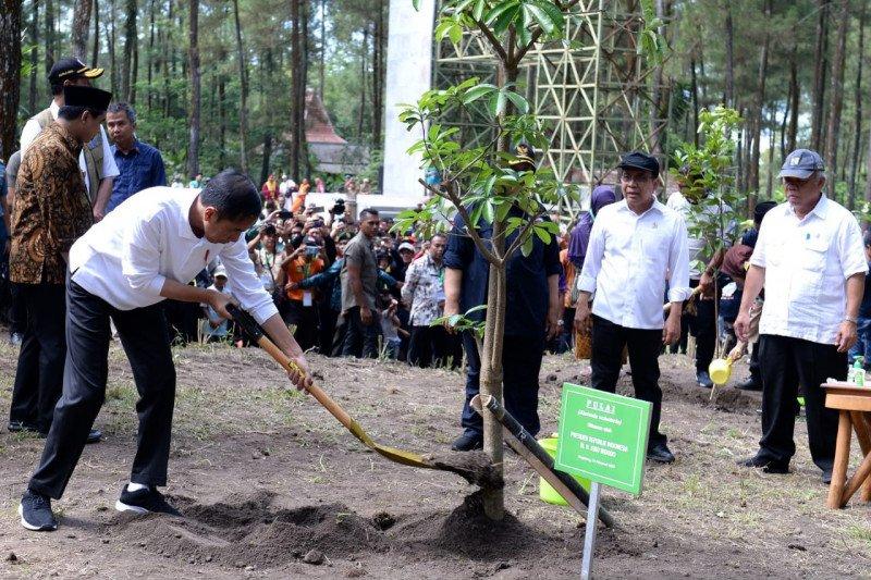 Presiden Jokowi tekankan pentingnya pelestarian lingkungan