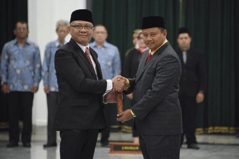 Kusmana dilantik sebagai Kepala Perwakilan BKKBN Jabar
