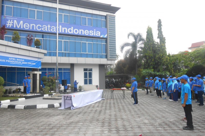 BPS Riau apel siaga peluncuran Sensus Penduduk Daring