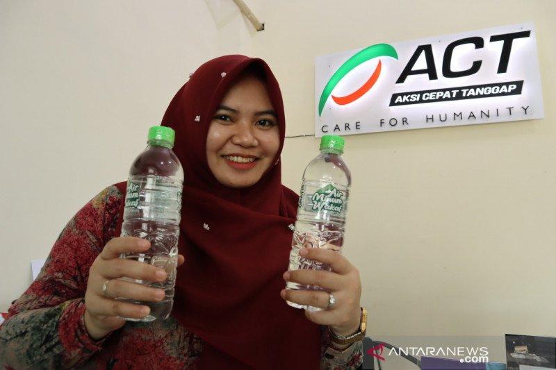 ACT target salurkan air minum wakaf ke semua masjid di Kota Palu