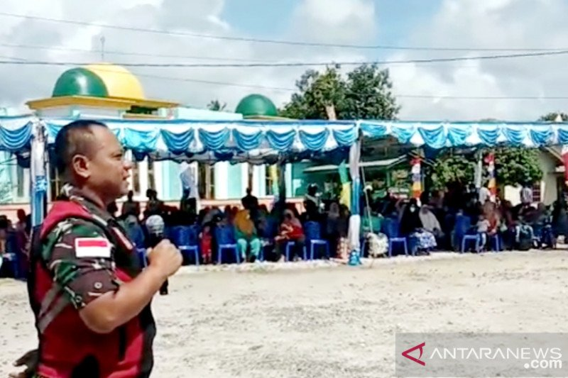 Masyarakat Natuna diberi penyuluhan cegah Covid-19