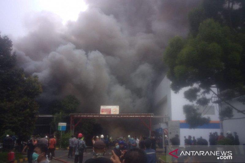 Pabrik PT Kino Indonesia Sukabumi kebakaran