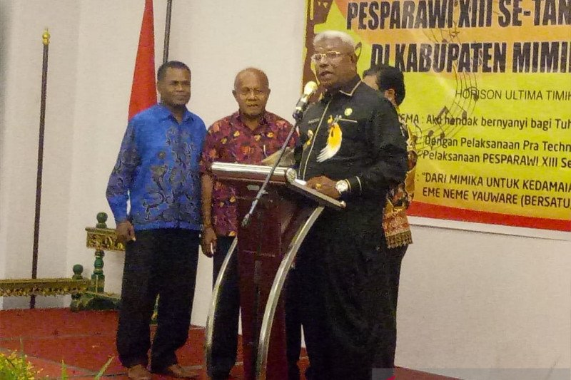 Mimika jamin keamanan saat penyelenggaraan Pesparawi Papua