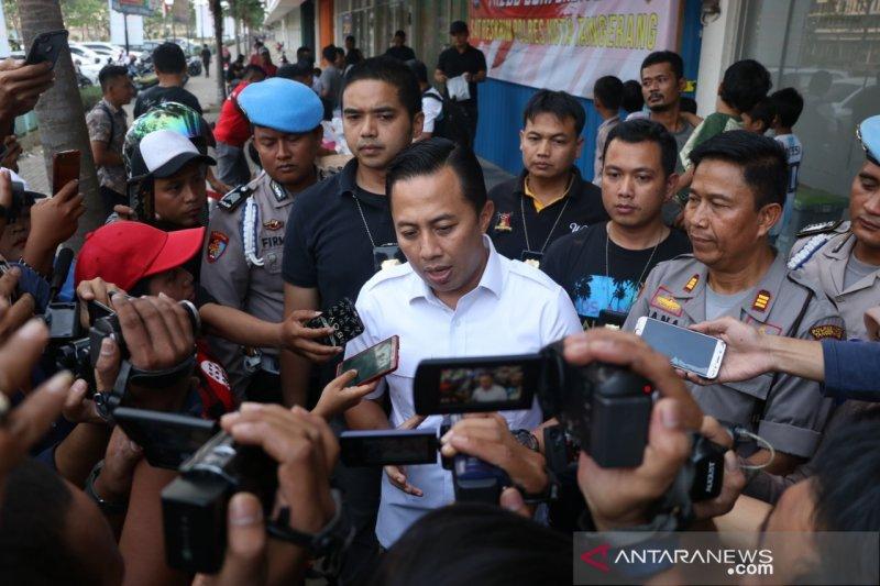 Polisi Tangerang tembak pelaku pencurian sepeda motor