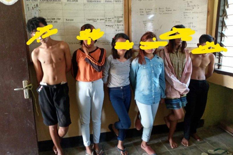 Enam remaja belasan tahun di Sumbawa kedapatan pesta miras