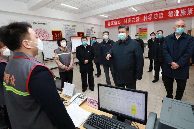 Partai Komunis Chini--CPC rombak pengurus partai di tengah meningkatnya kematian corona