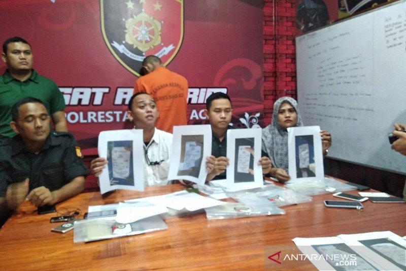Polresta Banda Aceh ungkap pemerasan terhadap anak SMP di media sosial