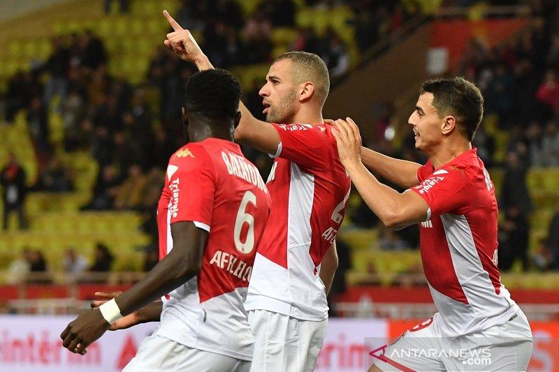 Slimani lanjutkan tren positif Monaco dengan tundukkan Montpellier 1-0