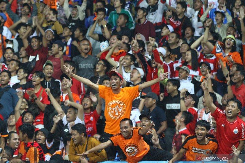 The Jakmania dukung liga tanpa penonton di stadion