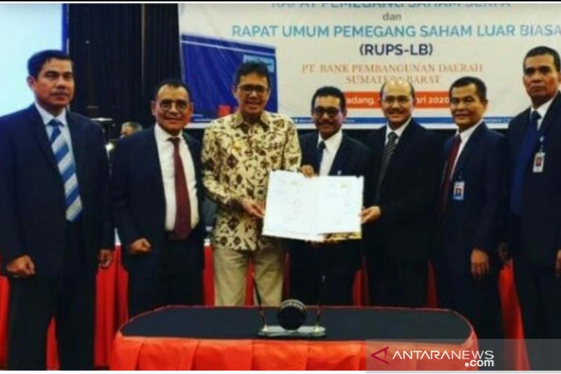RUPS-LB tetapkan Syafrizal Plt Dirut Bank Nagari