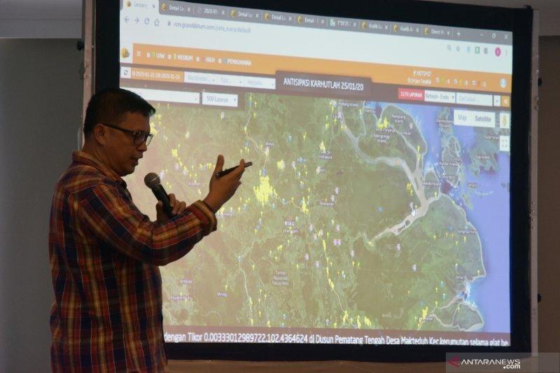 Tangani karhutla, BMKG Riau tertarik aplikasi dashboard lancang kuning