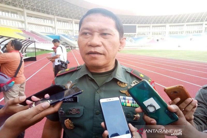 Ratusan personel TNI - Polri diturunkan pengamanan Stadion Manahan