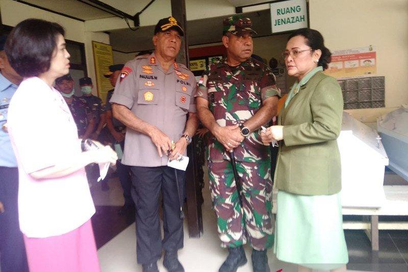Polda Papua bantu identifikasi 12 jenazah  kecelakaan heli Mi-17