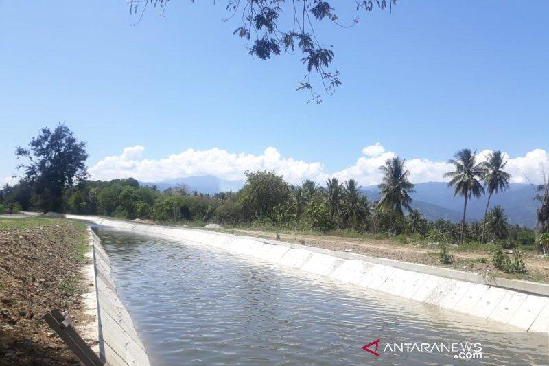 Gubernur Sulteng: Pembangunan irigasi Gumbasa Sigi  dikerjakan bertahap