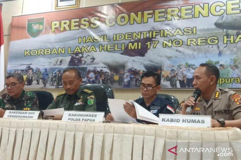 Jenazah kecelakaan Heli MI 17 diterbangkan ke Semarang dan Surabaya