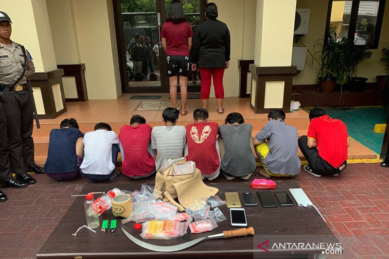 23 pemuda ditangkap polisi di Jakarta