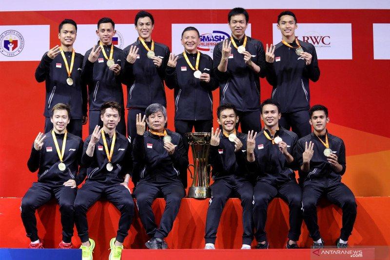 Susy Susanti puji penampilan tim putra Indonesia
