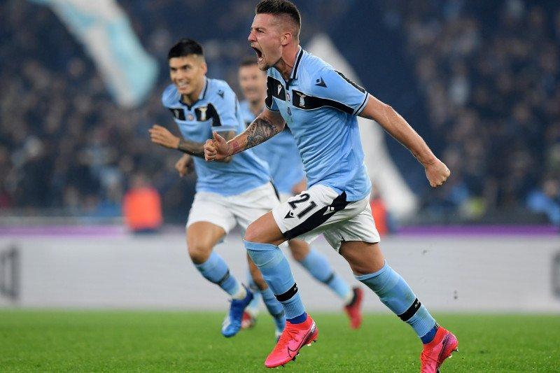 Lazio depak Inter dari peringkat kedua Liga Italia
