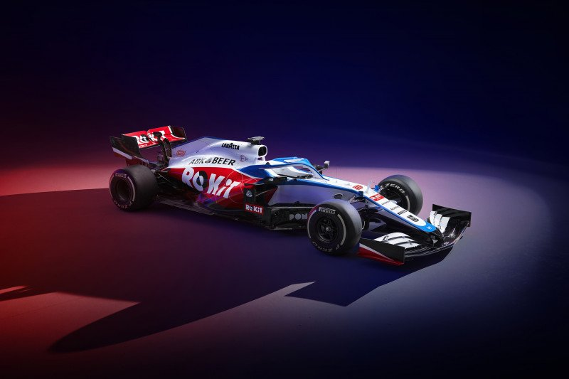 Williams hadir dengan warna baru