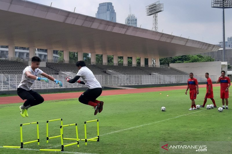 Kiper timnas belajar dari blunder di Kualifikasi Piala Dunia