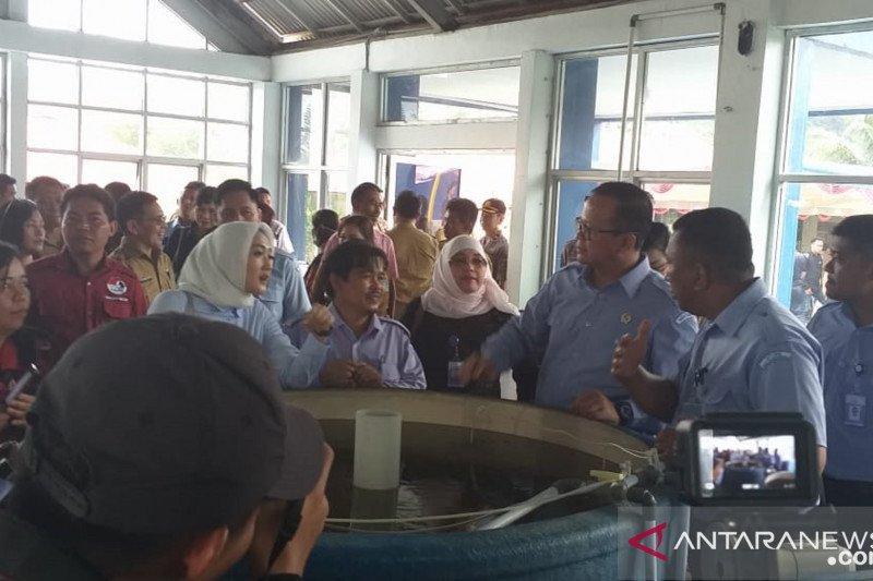 Menteri KKP berencana bangun balai benih air tawar di Ambon