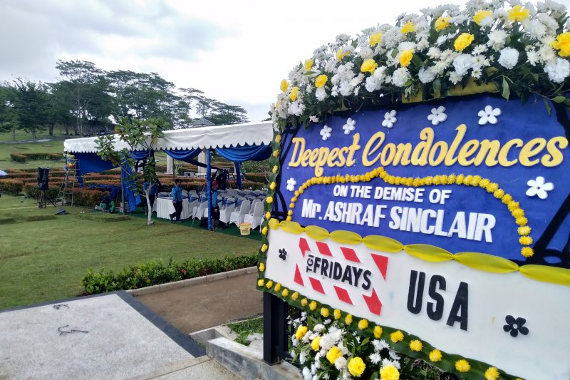 Lokasi pemakaman suami BCL Ashraf di San Diego Hills Karawang