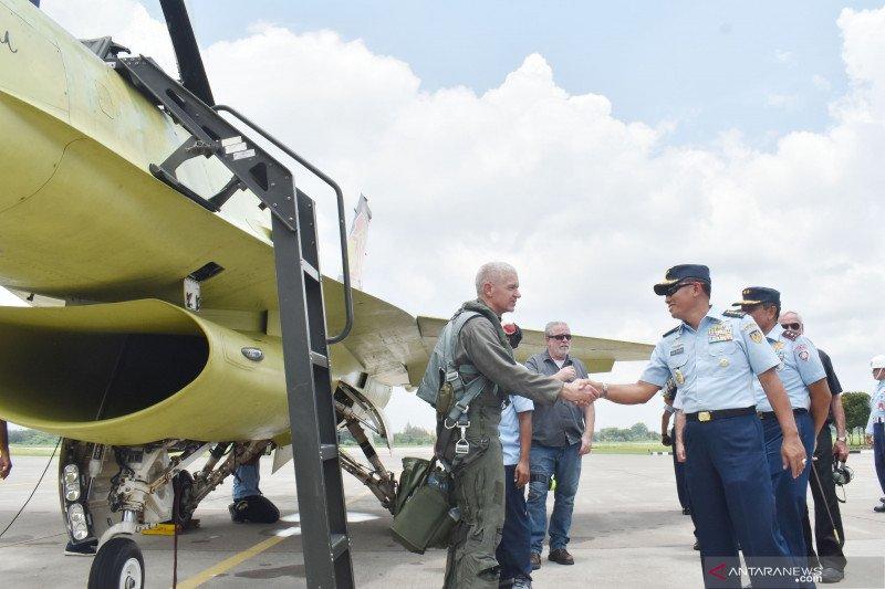 KSAU tinjau hasil upgrade pesawat F-16