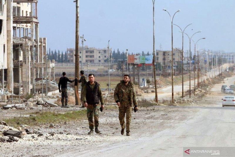 Pemberontak yang didukung Turki kembali rebut kota Saraqib, Suriah