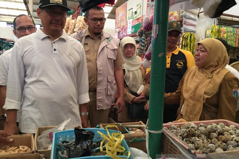 Jaksel pastikan keamanan pangan di lima pasar