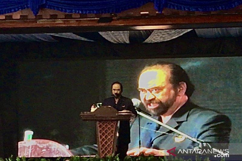 Surya Paloh minta kader NasDem total mendukung Omnibus Law disahkan DPR