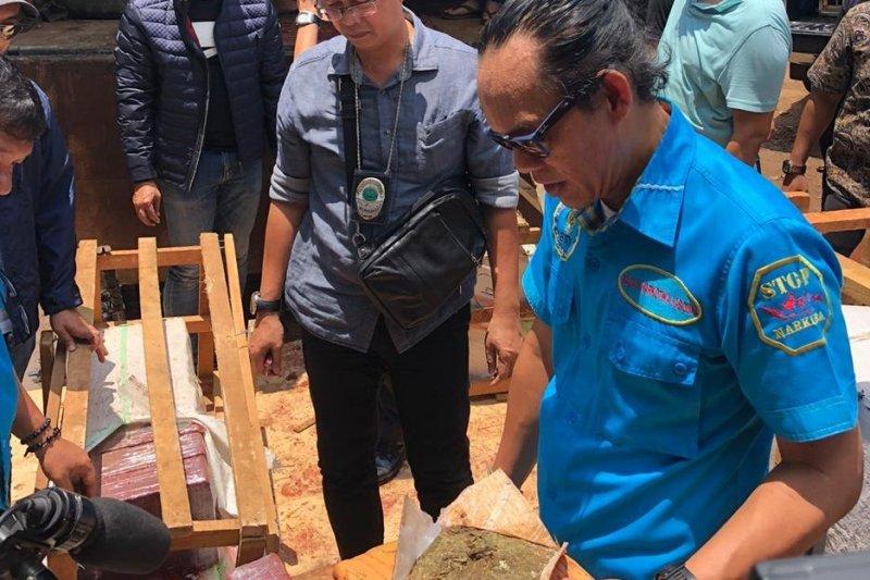 BNN sita 500 bungkus ganja dari Aceh