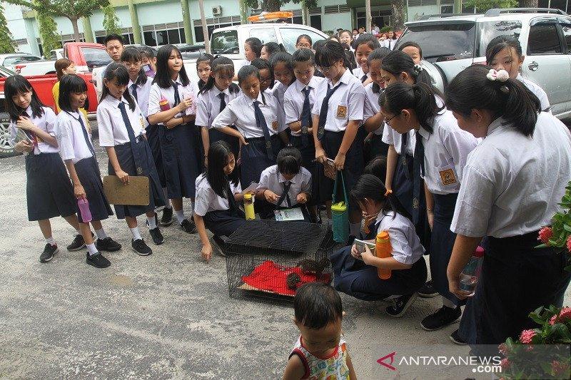 BBKSDA Riau buka diri untuk edukasi siswa tentang konservasi satwa