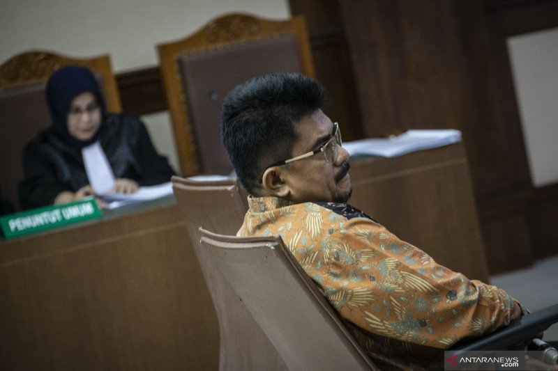 Mantan Kepala Kantor Pajak PMA dituntut 9,5 tahun penjara