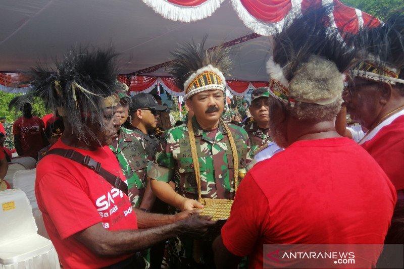 Panglima TNI terima hibah lahan untuk bangun Markas Kogabwilhan III