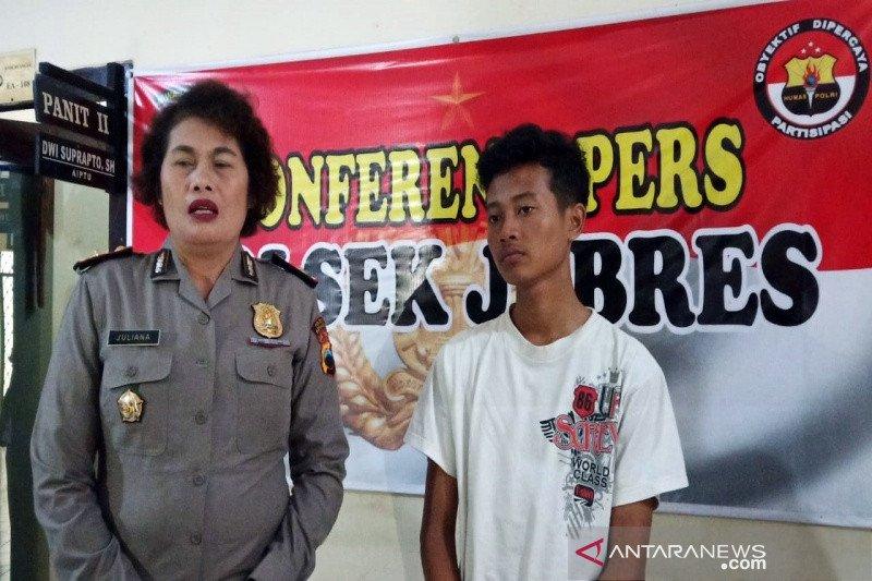 Telantarkan bayinya, seorang pemuda jalani pemeriksaan di Polresta Surakarta