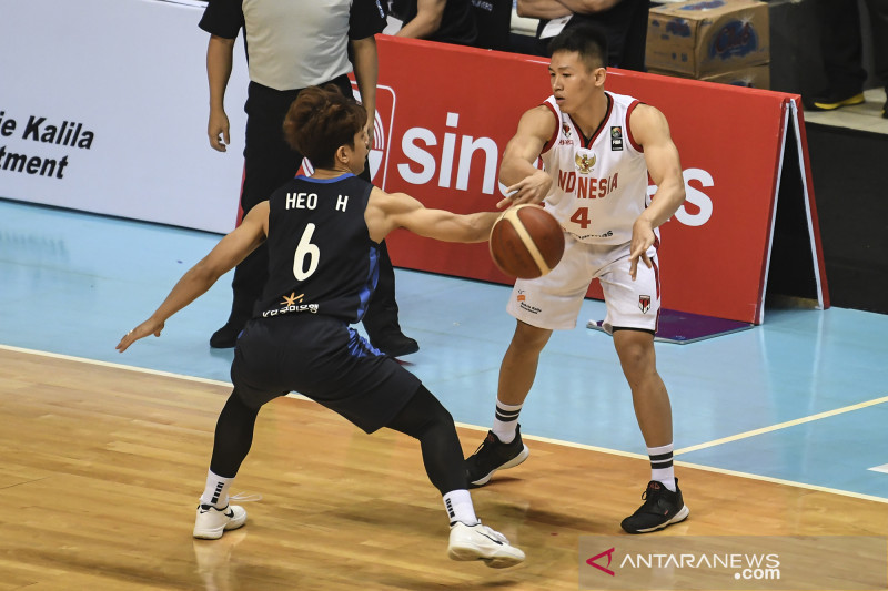 Kualifikasi FIBA Asia Cup 2021 : Indonesia vs Korsel
