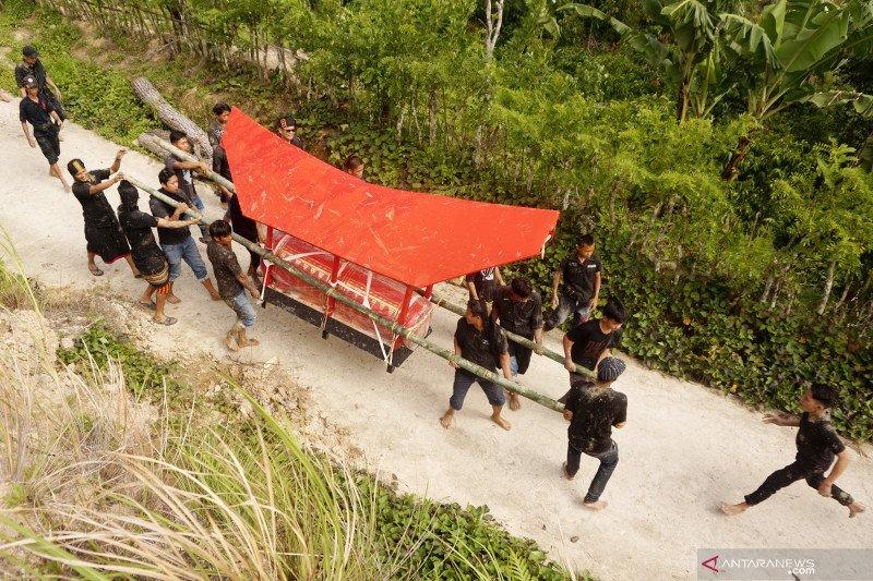 Upacara kematian adat Mamasa